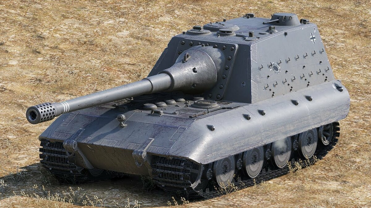 Танк Jagdpanzer-E-100 в World of Tanks