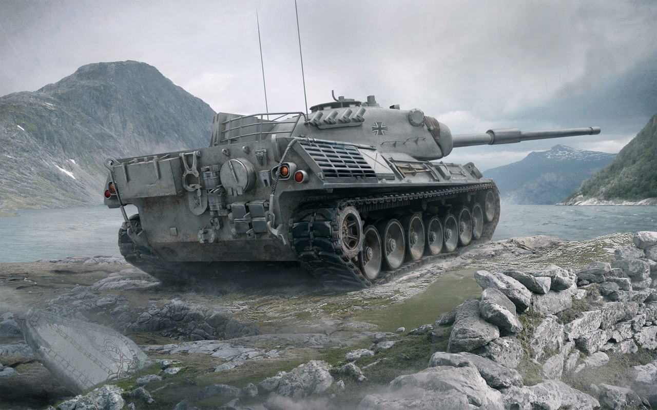 Танк Leopard-1 в World of Tanks